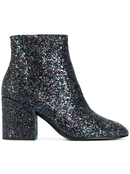 ASH women leather blue shoes