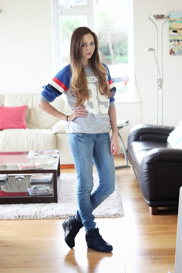 koko luxe sweater jeans