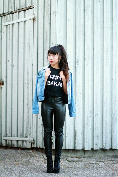 beauthi blogger jeans jacket t-shirt shoes jewels