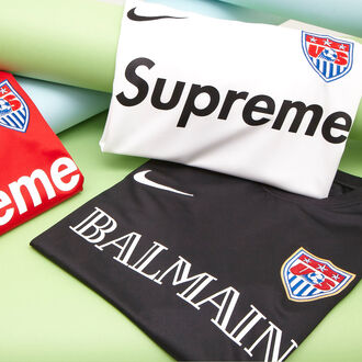 t-shirt balmain supreme nike football shirts
