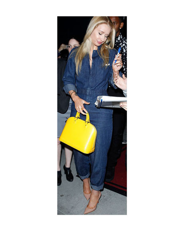 shoes iggy azalea bag accessories bracelets jumpsuit jewels