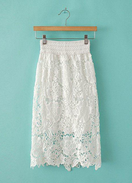 Ama Lace Midi Skirt | Outfit Made