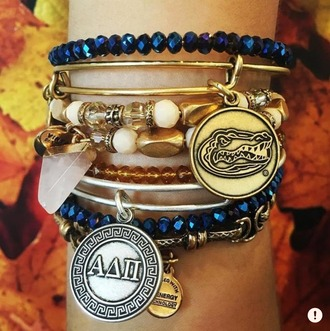 jewels jewelry bracelets wrap bracelet cute gold florida bangle pretty shiny celebration cool funny yes plz collection alex and ani accessories accessory