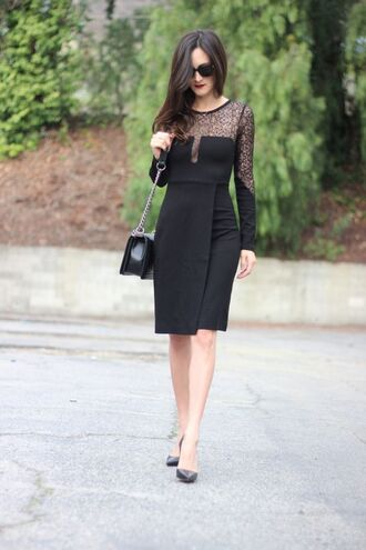frankie hearts fashion blogger dress shoes bag sunglasses