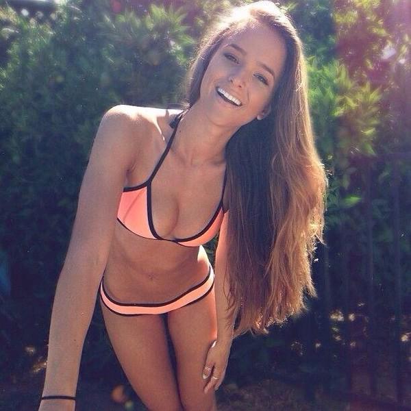 swimwear neon sporty bikini