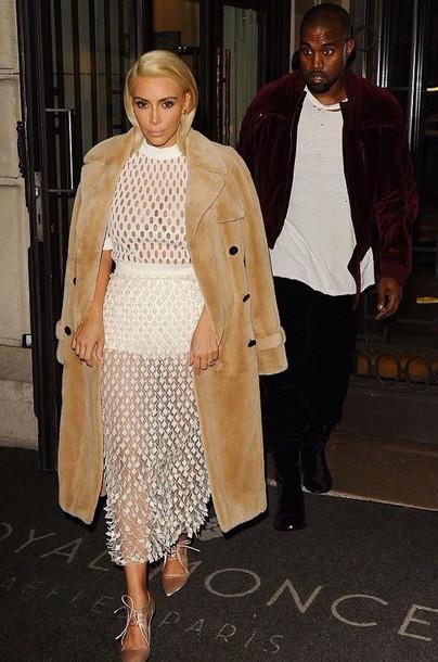 Dress White Kim Kardashian Dress White Dress Kim Kardashian Kim Kardashian Style Sexy