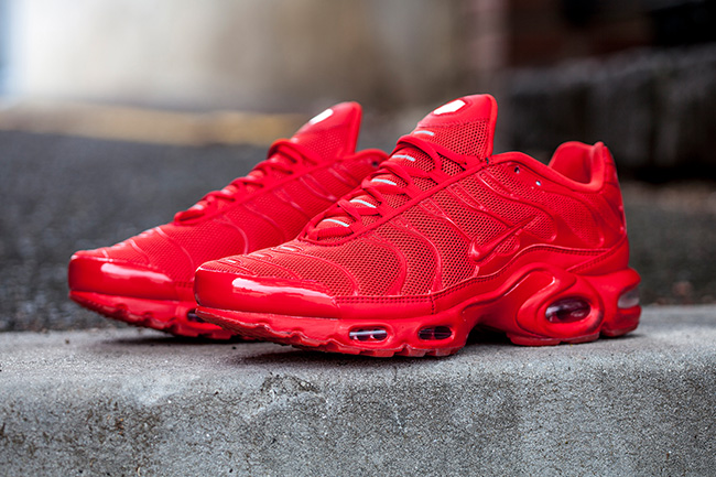 Nike Air Max Plus Tuned 1 Lava Red Sneaker Bar Detroit