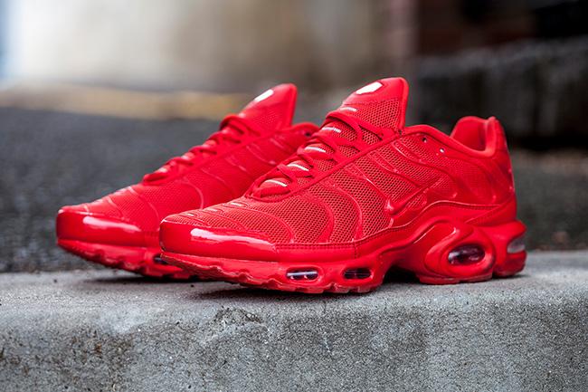 Nike Air Max Plus Tuned 1 Satin Sneaker Bar Detroit