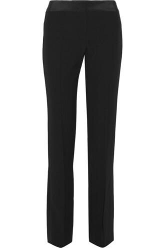 pants silk black