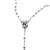 Silver Light Rosary Necklace