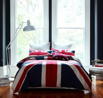 bedding union jack belt