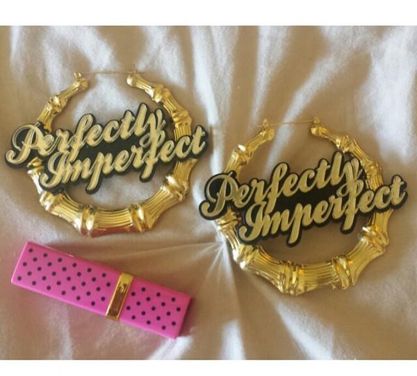 jewels gold earrings perfectly imperfect gold earrings hoop earrings t-shirt