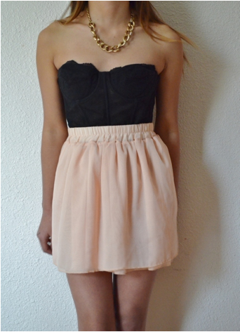 Chiffon skirt from gypsy lust on storenvy