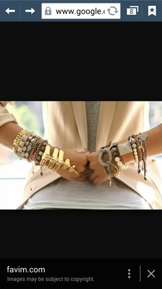 jewels ring braclets