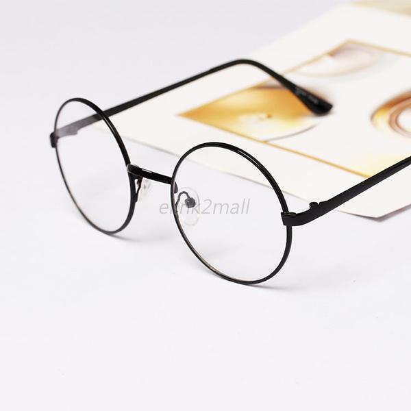 a2df439f05f Vintage Retro Eyeglasses Clear Lens Eye Glasses Fashion Round ...