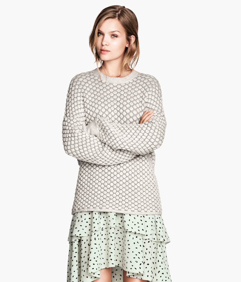 H&M Texture-knit Sweater $59.95