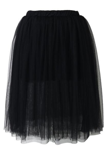 skirt simplicity black tulle skirt swimwear sweater pullover white