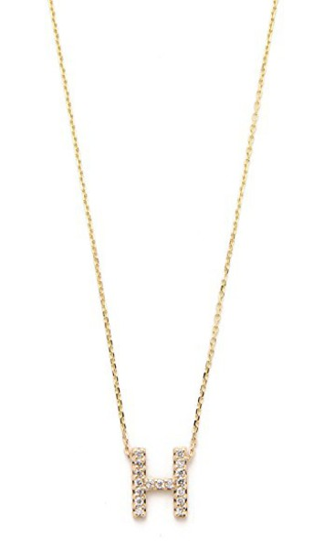 Sarah Chloe necklace gold necklace gold jewels