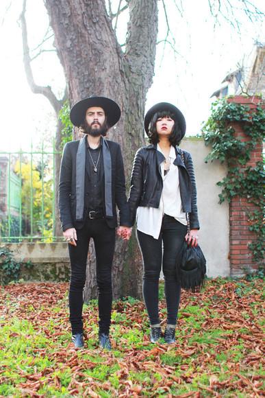 adeline rapon jacket hipster hipster menswear leather jacket