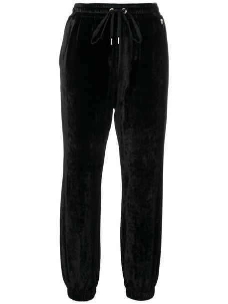 Twin-Set women spandex black pants