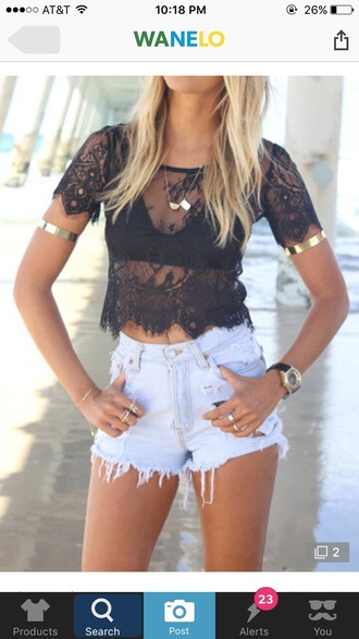 top girl girly girly wishlist black lace lace top crop tops crop cropped black lace