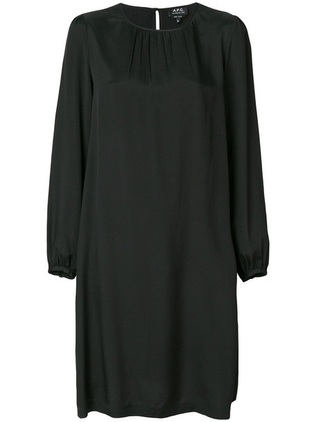 A.P.C. dress shift dress women black