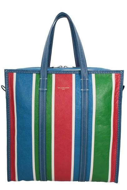 Balenciaga bag stripes multicolor