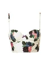 tank top,floral,flowers,white,pink,bralette,crop tops