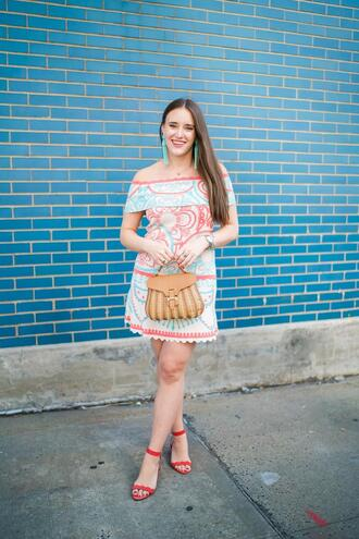 covering bases curvy blogger dress shoes jewels bag sandals spring outfits summer outfits