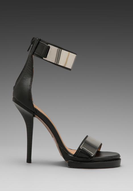 Jeffrey campbell tilda in black silver