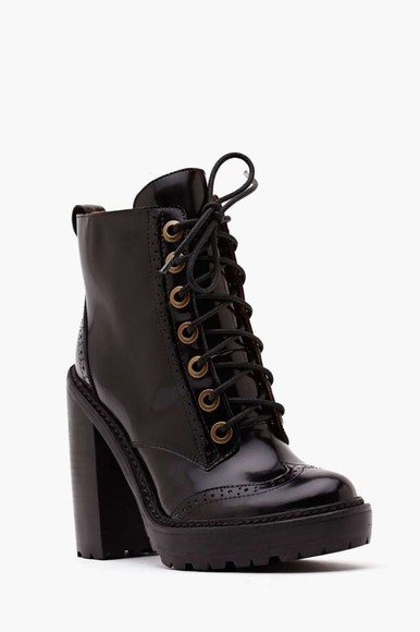 shoes black jeffrey campbell boots platform shoes