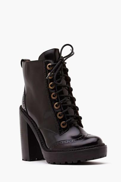 shoes black jeffrey campbell platform shoes boots