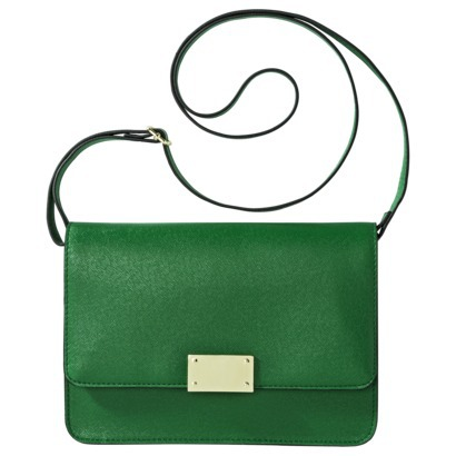 Merona® Clutch with Crossbody Strap - Green : Target