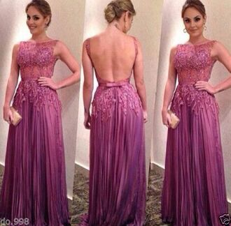 floral dress prom dress open back prom dress purple prom dress help