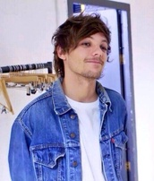 jacket,denim jacket,denim,fall outfits,hipster,retro,louis tomlinson,one direction,one direction jacket,skater,boy,boys/girls,skateboard,menswear