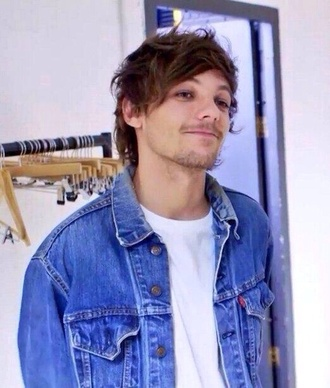 jacket denim jacket denim fall hipster retro louis tomlinson one direction one direction jacket 1d 1direction skater boy boys/girls skate menswear
