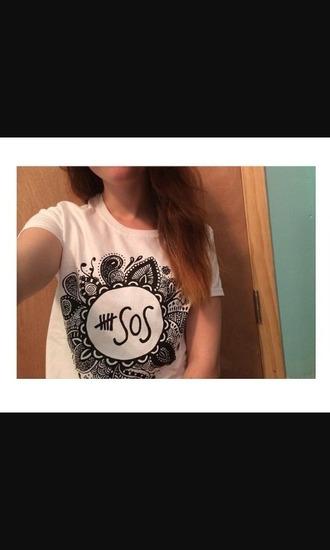 shirt 5 seconds of summer luke hemmings calum hood micheal clifford ashton irwin need this!!!!!