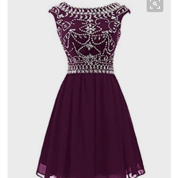 dress homecoming dress purple dress party dress