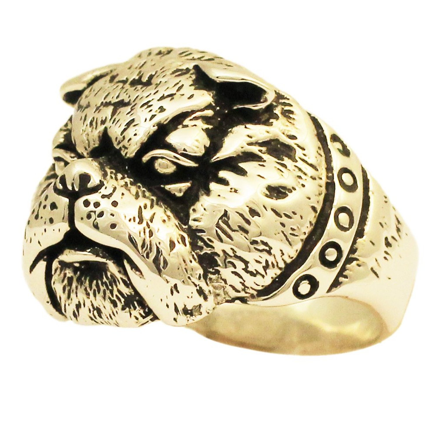 Amazon.com: bronze bulldog ring