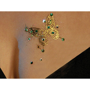 Real Gold and Silver Temporary Tattoo | eBay