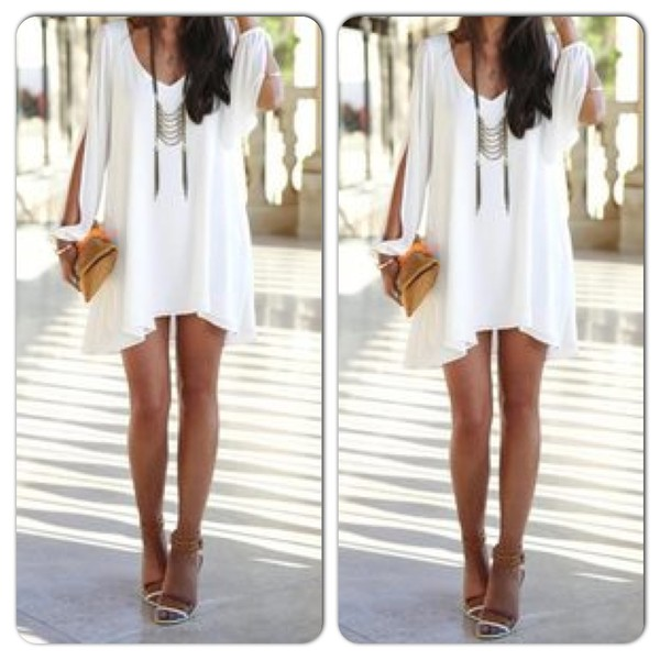 dress white dress white summer dress short dress