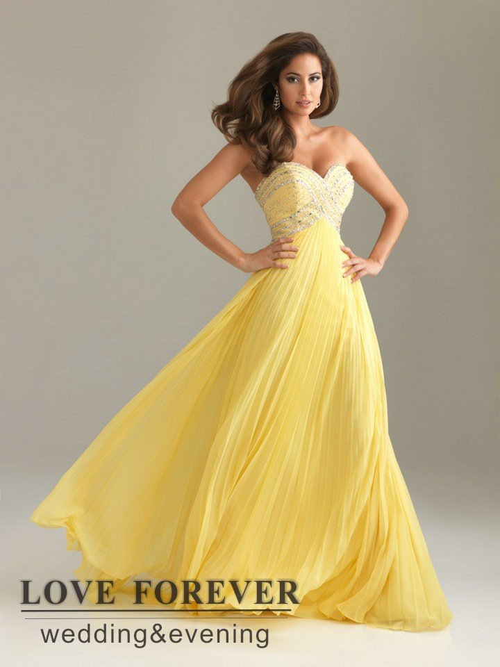 Best Selling Sweetheart long Lilac Yellow Blue Modern Evening Dress Gowns 2013-in Evening Dresses from Apparel & Accessories on Aliexpress.com