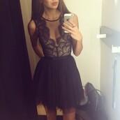 dress,lace dress,lace,black,black dress,little black dress,new year's eve