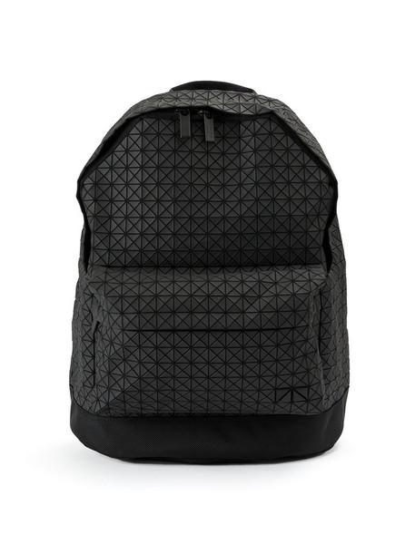 BAO BAO ISSEY MIYAKE geometric backpack black bag