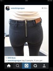 jeans,acne studios