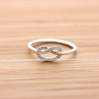 ring heart ring jewels knot heart knot ring heart