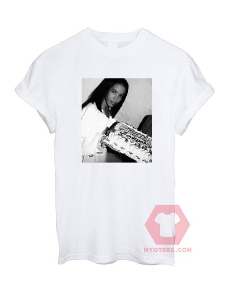 Cheap Custom Tees Aaliyah Birthday On Sale | MYOTEES
