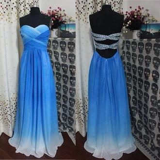 dress blue dress prom dress formal dress