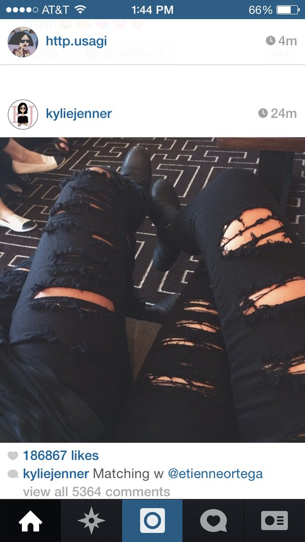 jeans ripped jeans holes jeans black jeans