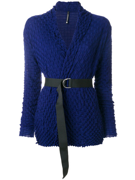 Pierantoniogaspari cardigan cardigan women blue wool sweater